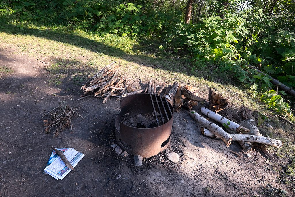 Always have enough fire wood ready.