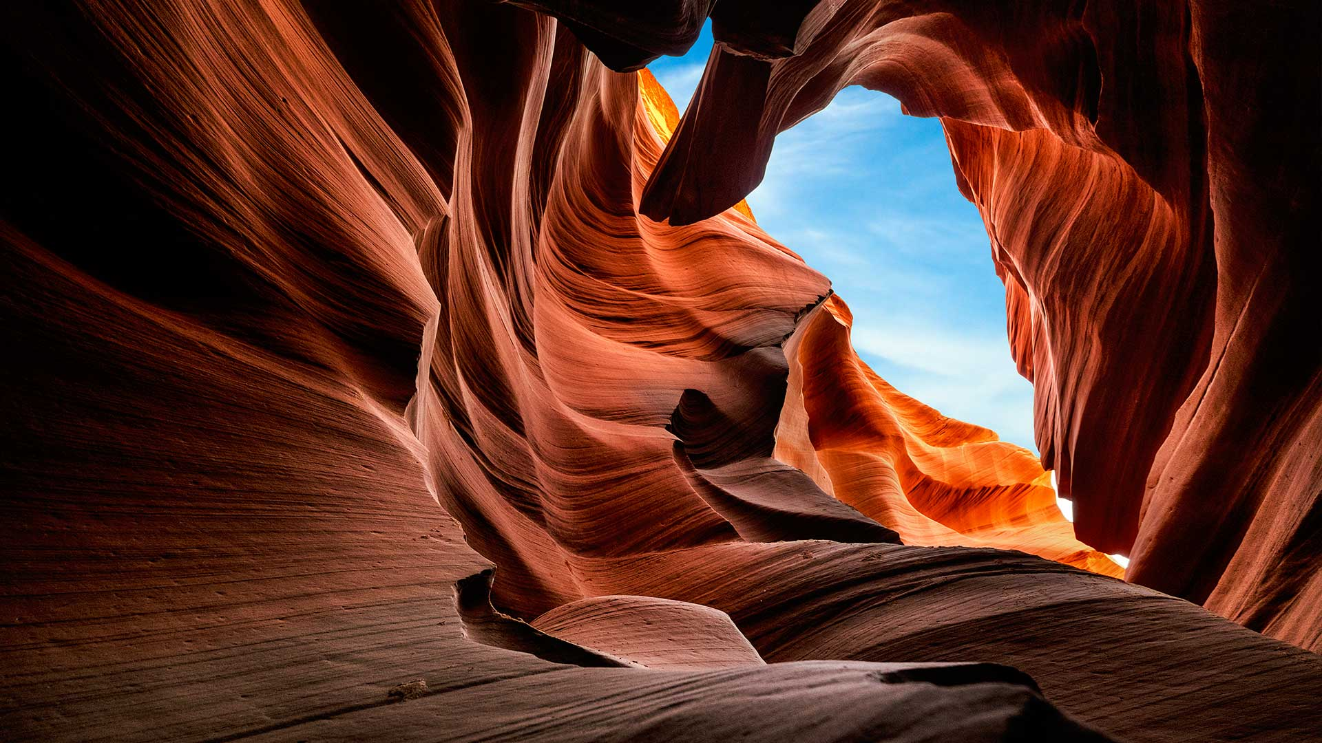 Cave of Enlightenment, Antelope Canyon, USA