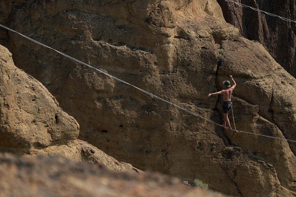 Smith Rock Highline Festival 2015 #1