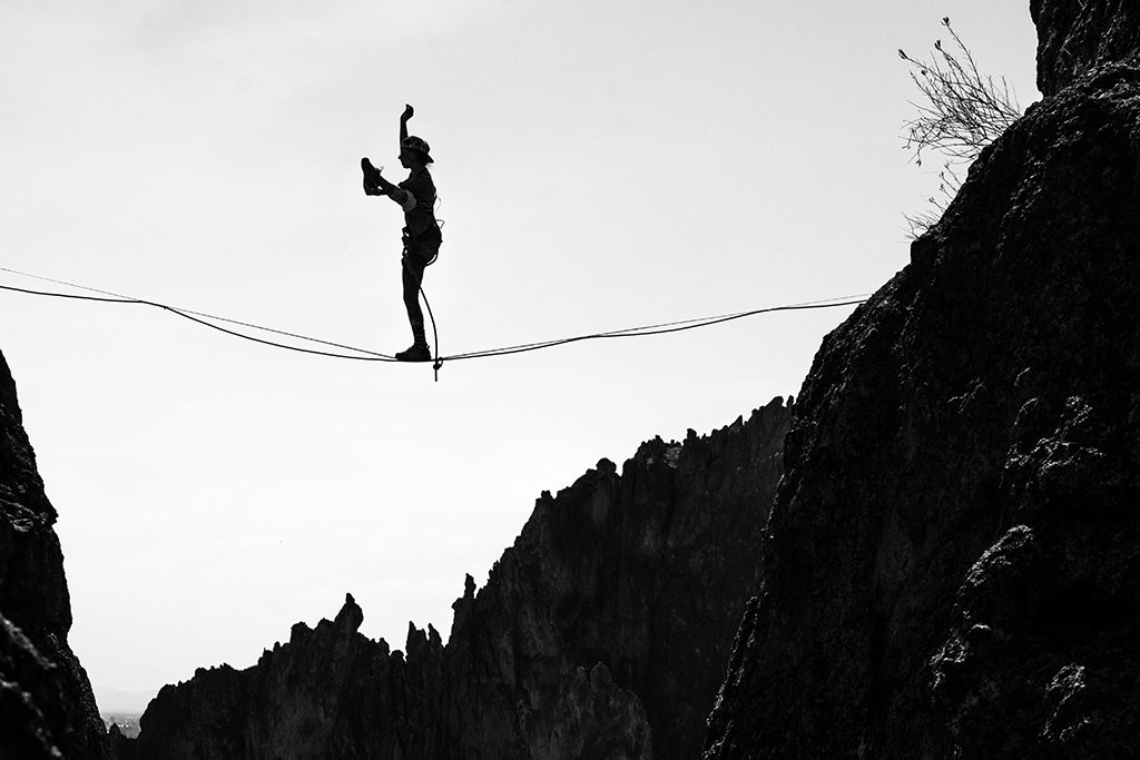 Smith Rock Highline Festival 2015 #2