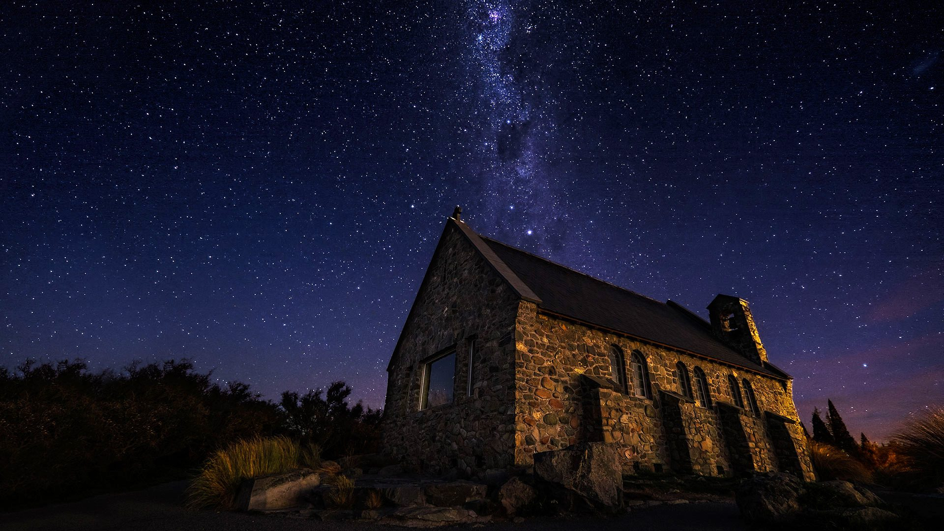 Milky Church, Lake Tekapo, New Zealand